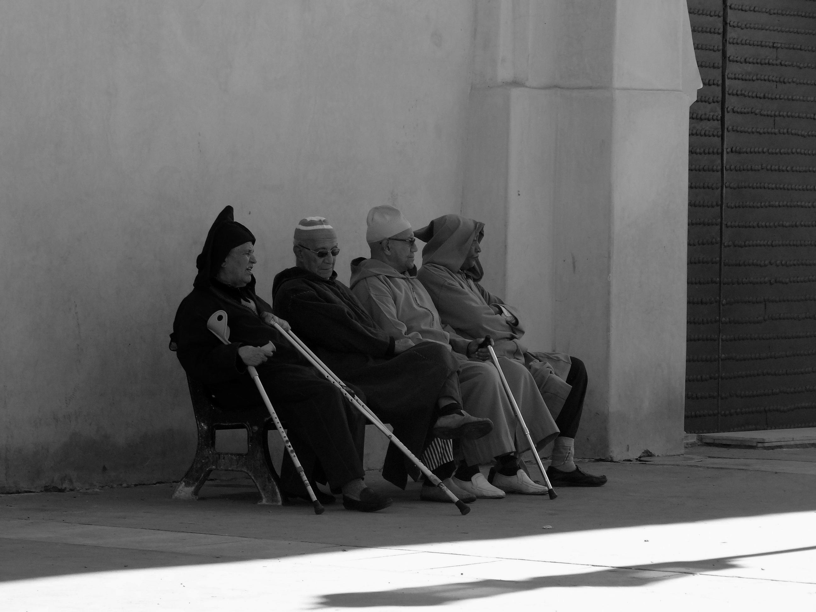 The four amigos in Marrakech