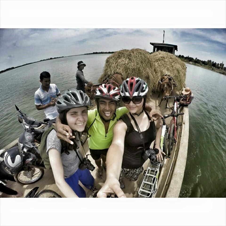 Phnom Penh on bicycle