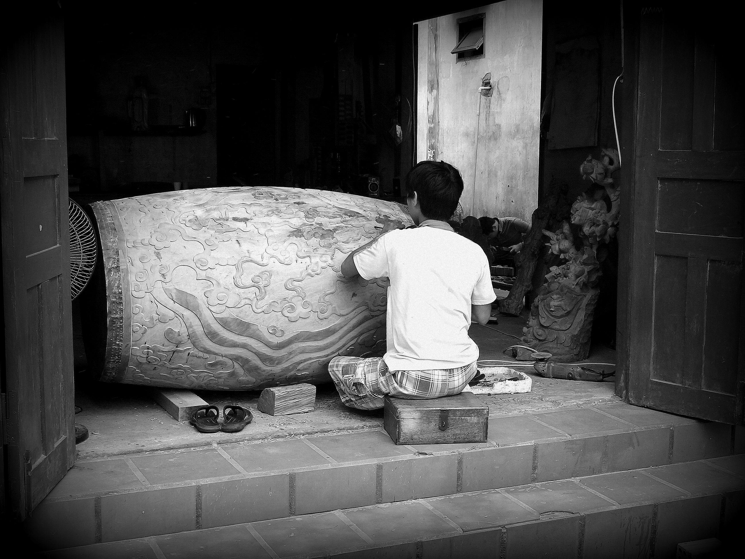 Black & White Series: Faces of Vietnam