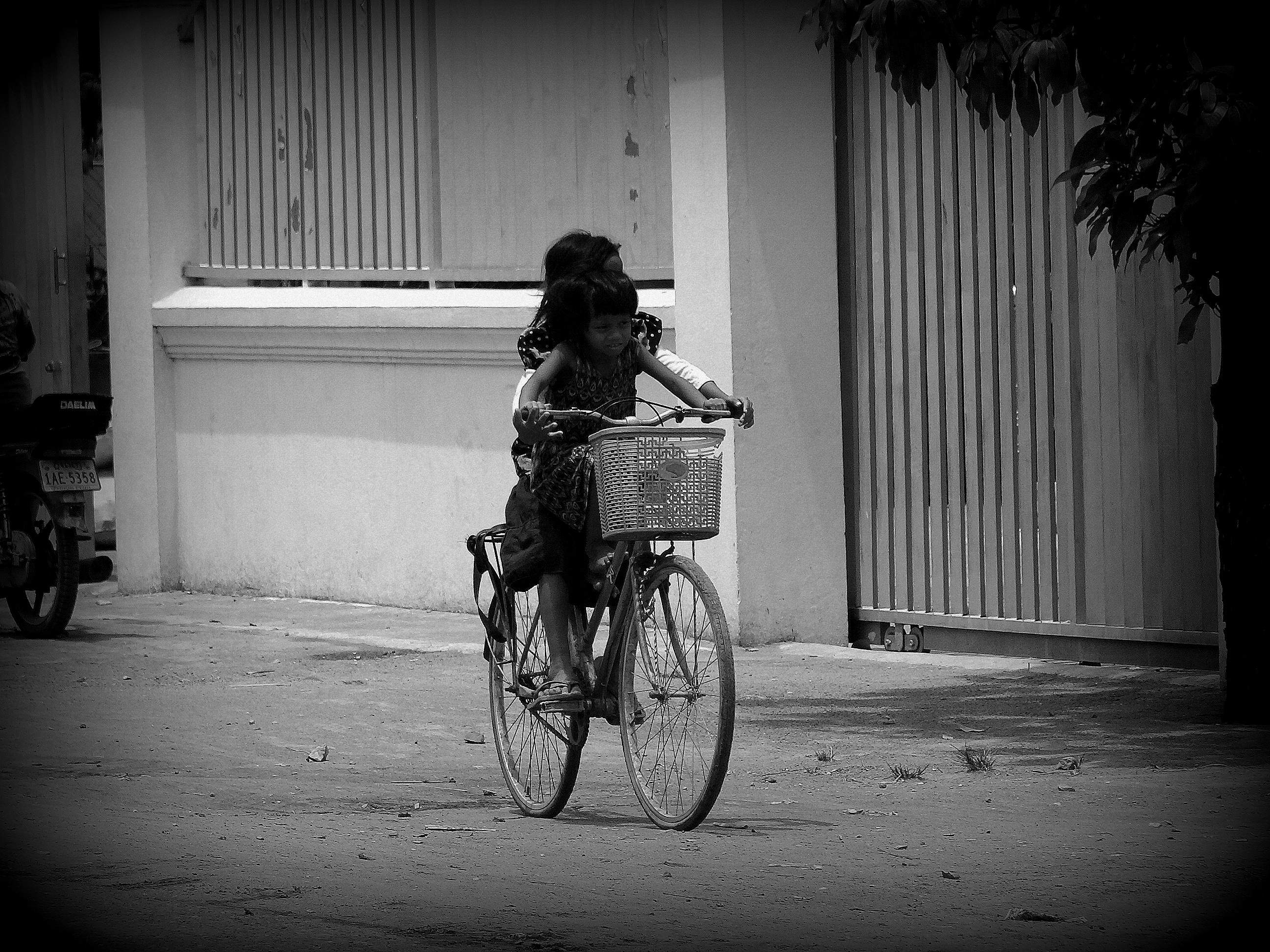 Black & White series: Faces of Cambodia